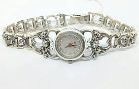 Серебряные часы. Артикул 7110021 ЧАСЫ 33
