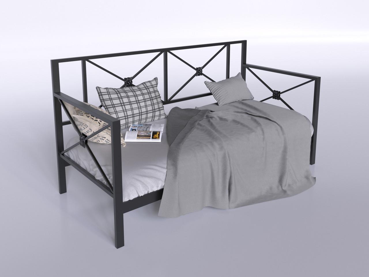 Диван-кровать Тарс Tenero 900х2000 мм металлический