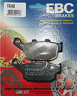 Тормозные колодки на мотоцикл EBC FA140