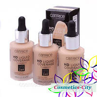 Тональная основа Catrice HD Liquid Coverage Foundation, 30 мл, фото 1