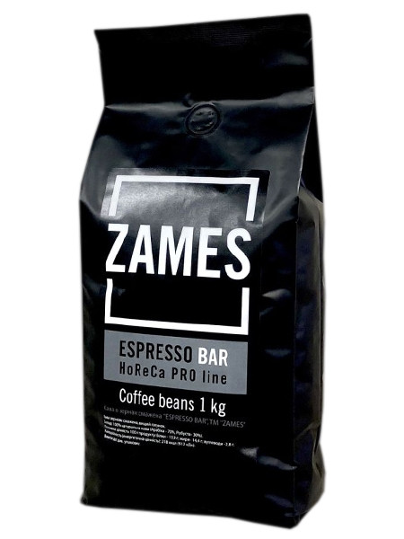 Кофе Zames Bar в зернах 1 кг
