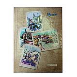 Блокнот А5 96л UKRAINE твердый переплет, клетка, фото 3