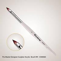 Pro Master Designer Sculptor Acrylic Brush №4