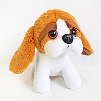 Мягкая игрушка Kronos Toys Собака Бассет 20 см