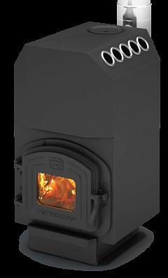 Отопительно-варочная печь Теплодар ТОП 140 с чугунной дверкой (до 150 куб)