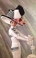 """Схема для вышивки бисером """"Великолепная Одри"""""""