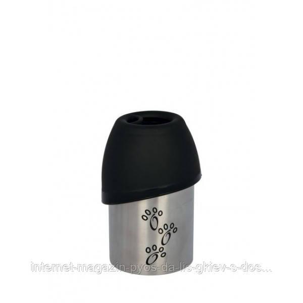 Бутылка дорожная металлическая для животных Трикси Trixie  (300 мл)