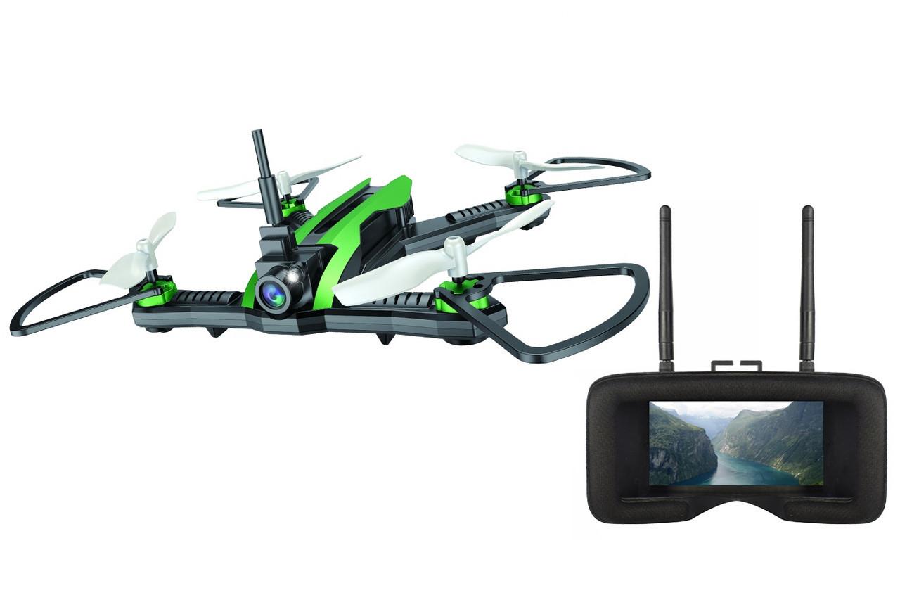 Квадрокоптер р/у Helicute H825G FPV RACER 3.0 с камерой FPV и видеошлемом