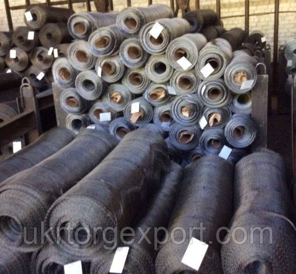 Сетка тканая низкоуглеродистая 8 x 1