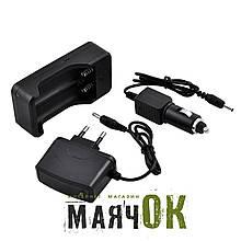 Зарядное устройство GH-SC01, 2x18650, 220V/12V