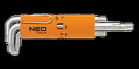 Набор ключей Torx с отверстием NEO 09-514