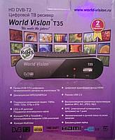 WORLD VISION T35 Тюнер Т2