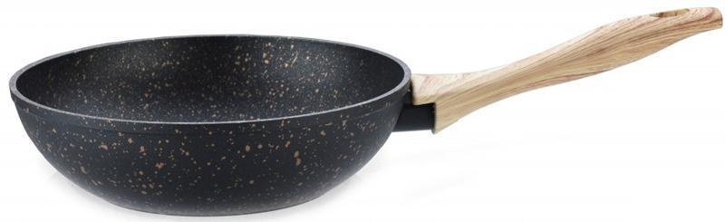 Сковорода-вок Fissman Cosmic Black Ø28см