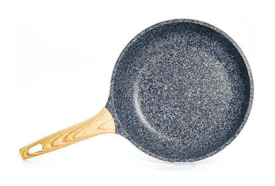 Сковорода Fissman Spotty Stone Ø20см с антипригарным покрытием FissEcoStone