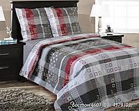 Комплект постельного белья евро БОСТОН ( нав. 70*70)