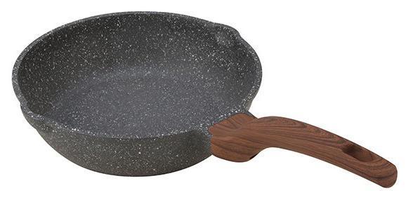 Сковорода-сотейник Fissman Dakjjim Ø28см с антипригарным покрытием Ilag Granistone