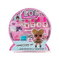 Игровой Набор L.O.L. Surprise! Сделай свой уникальный лак ЛОЛ Конфетти Confetti Nail Art 84667