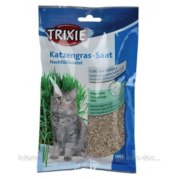 Трава для кошек (100 гр)