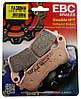 Тормозные колодки для мотоциклов Honda и Suzuki EBC FA388HH