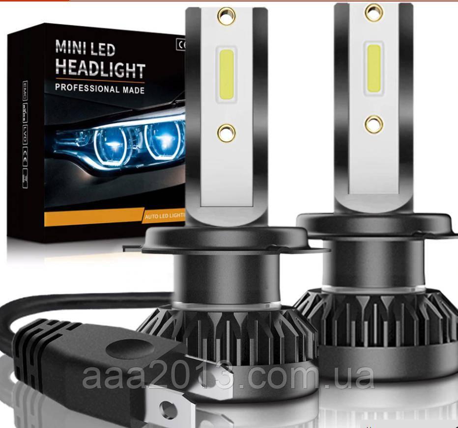 LED лампа H7 мини, ближний свет ПРОТИВОТУМАНКИ