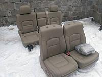 Комплект сидений (салон) Toyota land Cruiser 200 беж