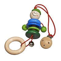 Клипса для коляски nic деревянная Карли NIC61110