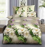 Комплект постельного белья из Ранфорса Полевые цветы