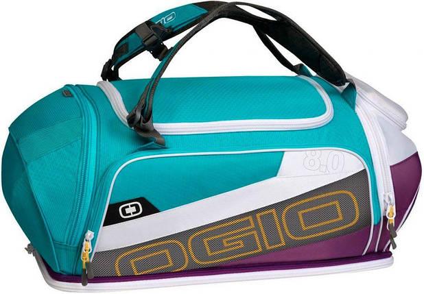 Спортивная сумка OGIO Endurance BAG 8.0 Purple/Teal, фото 2