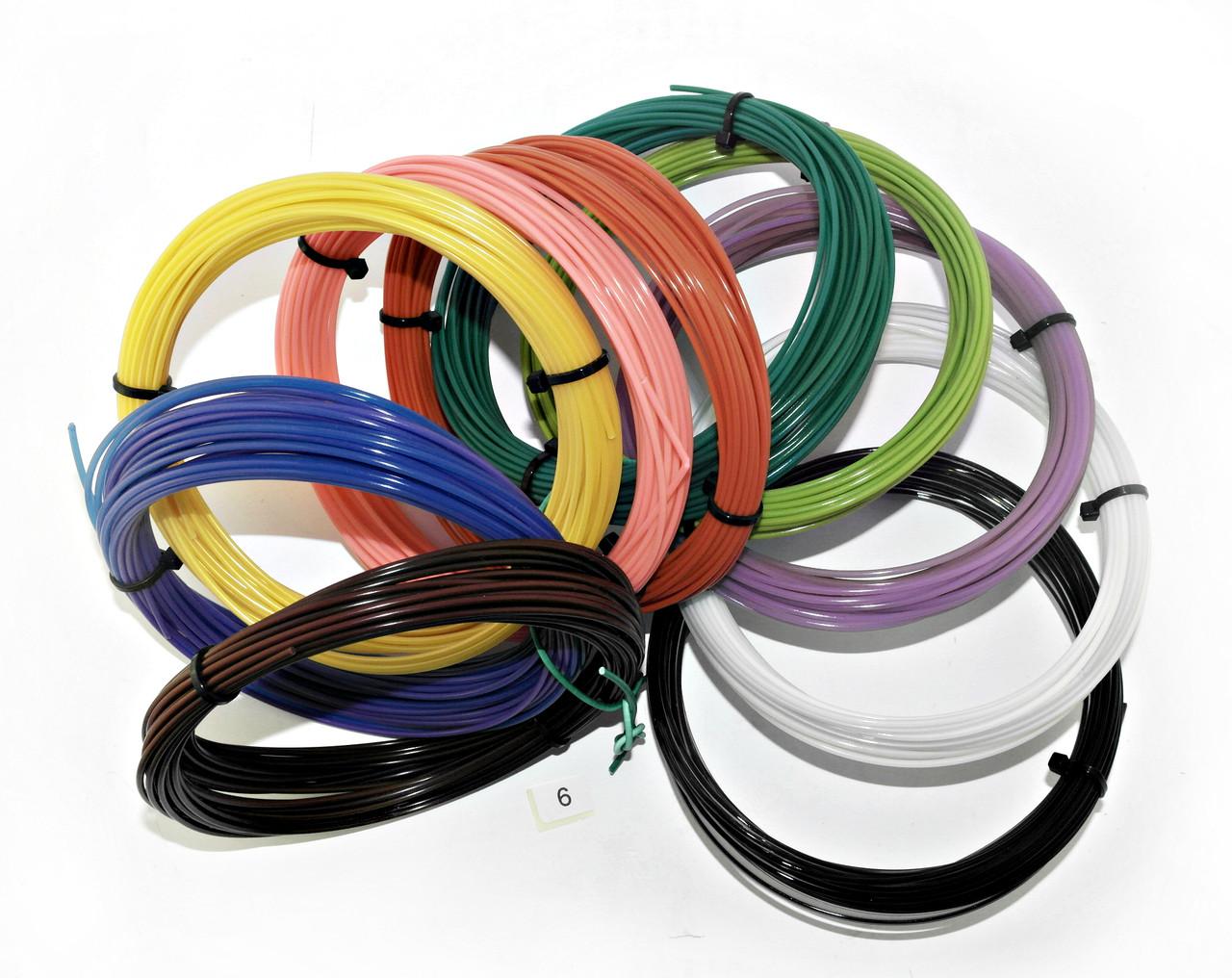 """Радужный набор PLA пластик для 3D ручки  """"Rainbow 6"""""""