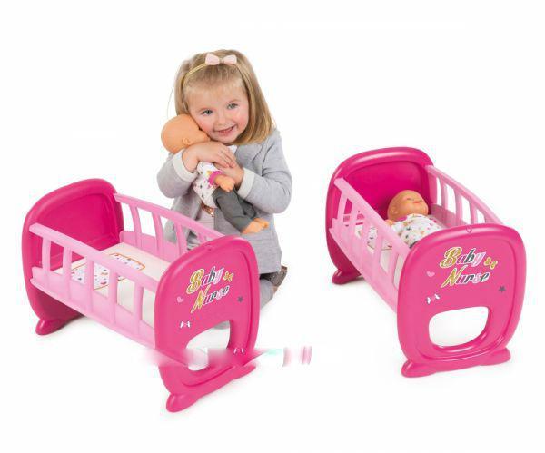 Кроватка для кукол близнецов двойни Baby Nurse Smoby 220329