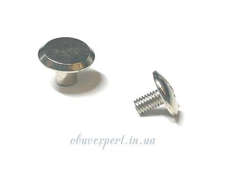 Винт ременной 10*6 мм Никель арт 6251, фото 2