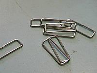 Рамка прямоугольная 38 мм никель (500 штук)