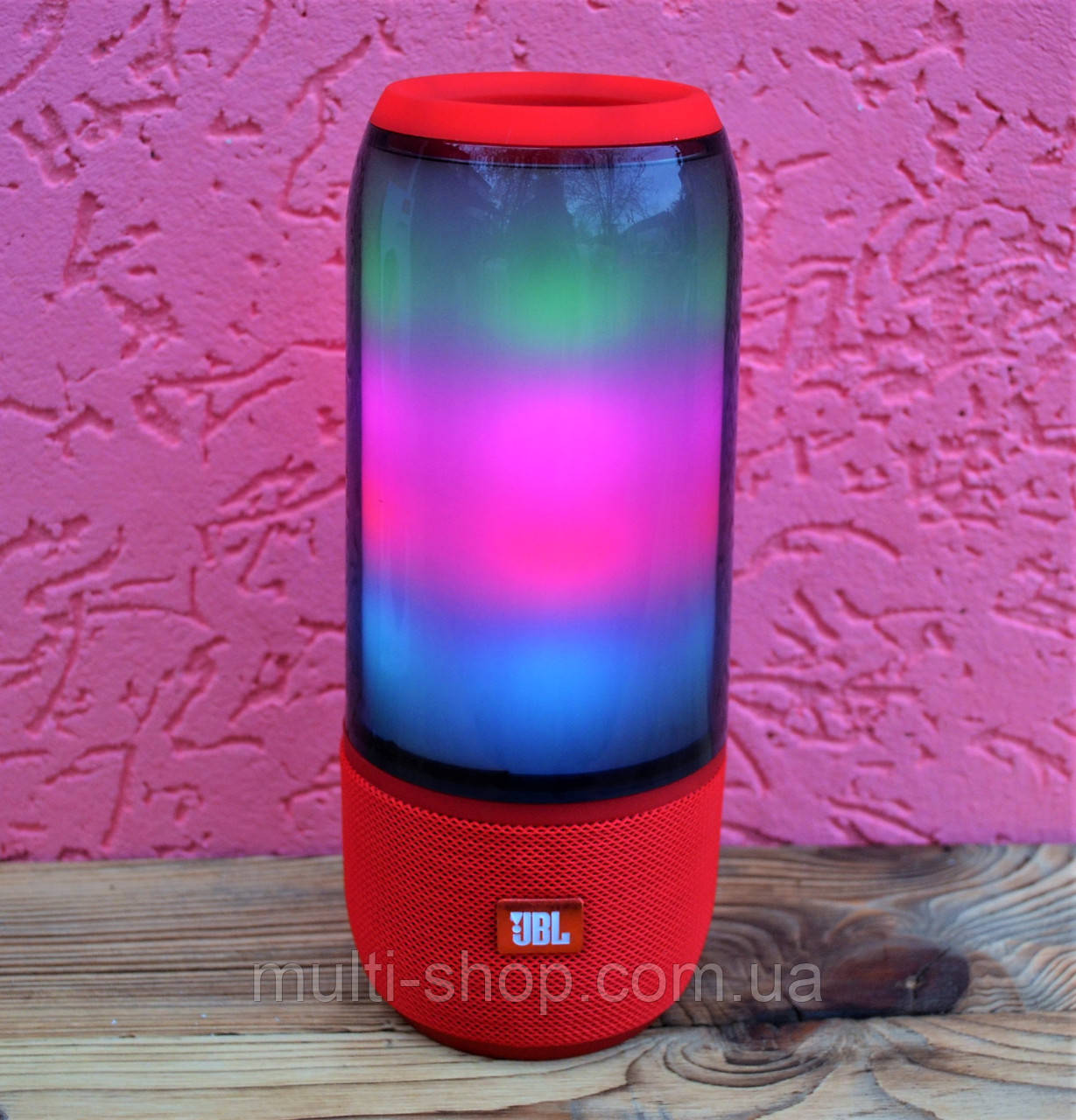 Портативна Bluetooth акустика/Колонка Pulse 3 з світломузикою