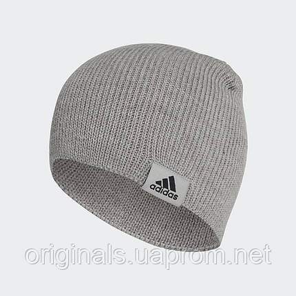 Серая шапка adidas Performance Beanie DJ1056  , фото 2