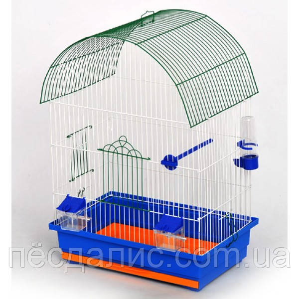 "(Лори) Клетка для птиц ""Виола"" окрашенная, 470/300/660"
