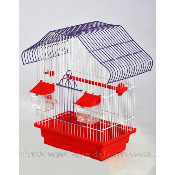 """(Лори) Клетка для птиц """"Малый Китай"""" окрашенная, 280/180/400"""
