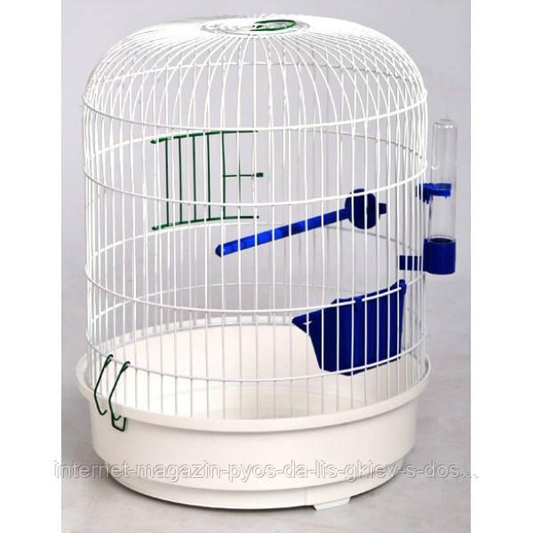 """(Лори) Клетка для птиц """"Рондо"""" окрашенная круглая, 325/440"""