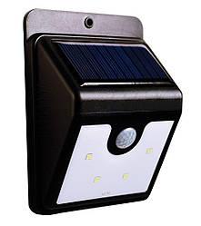 Светодиодный навесной фонарь на солнечной батарее с датчиком движения Ever Brite 4 LED