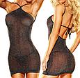 Секси платье мерцающее, фото 4