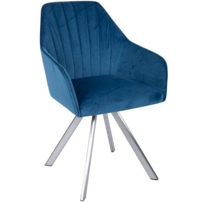 Кресло поворотное Galera Синий ТМ Nicolas