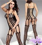 РАСПРОДАЖА Эротический костюм-сетка на тело цветная, фото 2