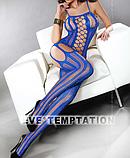РАСПРОДАЖА Эротический костюм-сетка на тело цветная, фото 4