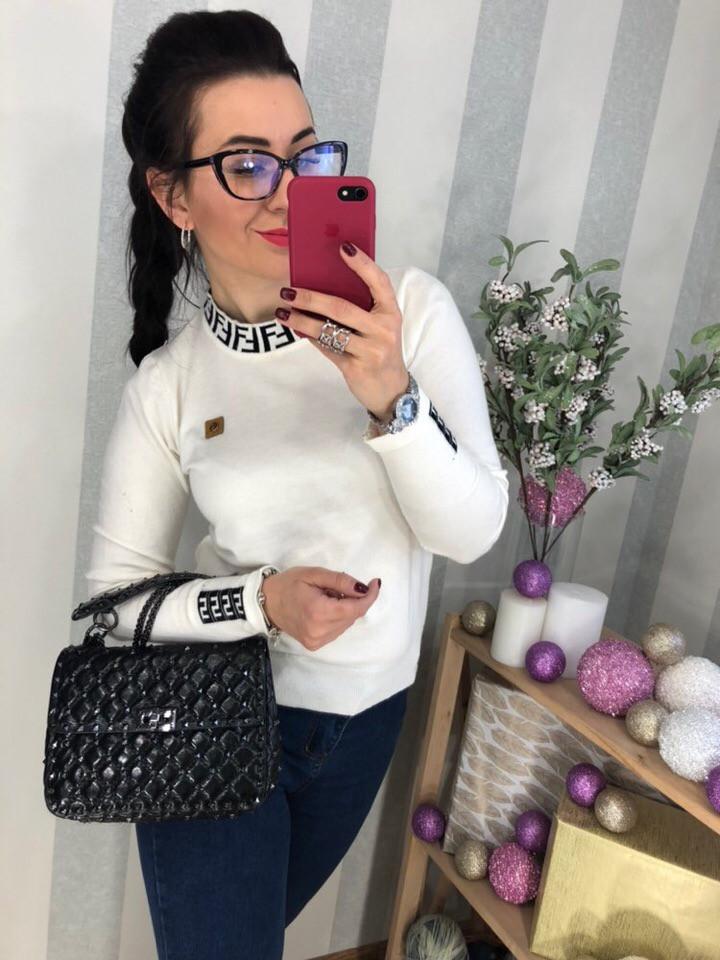 Женский очаровательный свитер РАЗНЫЕ ЦВЕТА(Фабричный Китай ) Код 0263
