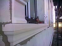 Декоративный подоконник из пенопласта