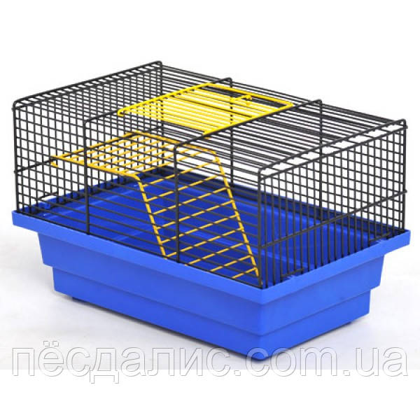 """(Лори) Клетка для грызунов """"Мышка"""" окрашенная, 280/180/170"""