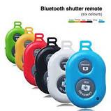 Пульт ДУ Bluetooth Remote Shutter selfie white Розничная коробка, фото 3