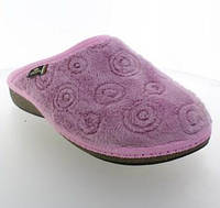 Домашние тапочки Spesita ‣ Ткань с длинным ворсом ‣ По цене производителя ‣ 620 Розовый (36-41)