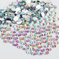 Стразы Crystal AB ss16(4мм).Цена за 100шт.