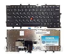 Оригинальная клавиатура для Lenovo ThinkPad X230S, X240, X240S, X240I, X250, X260, X270 series, black, ru