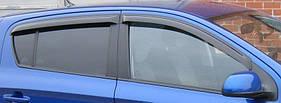 Ветровики (4 шт, Aomis) Hyundai I-30 2007-2011 гг.